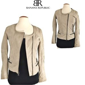 Banana Republic Genuine leather Jacket Sz S